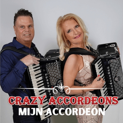 "Crazy Accordeons lanceren direct na TV Programma 'Ik geloof in mij' hun nieuwe single ""Mijn Accordeon"""